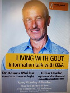 Man Living with Gout Information Talk